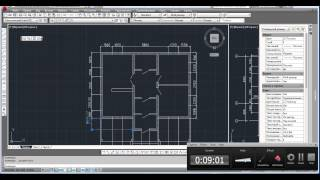 План дома в AutoCAD. Часть 3