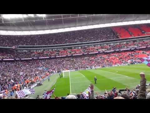 Hi Ho Aston Villa @Wembley after beating Liverpool