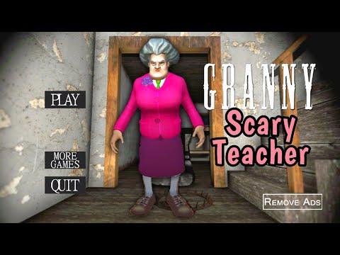 Granny Is Scary Teacher 3D!