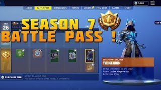 *NEW* SEASON 7 BATTLE PASS ALL SKINS, WEAPON CAMOS, PETS, GLIDERS AND MORE REVEALED! - FORTNITE BR