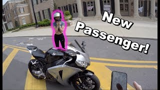 Tips For Riding A Motorcycle With A PASSENGER!