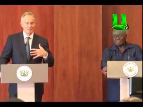 Tony Blair Pays Courtesy Call On Prez Akufo Addo