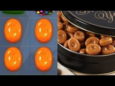 Real Life Candy Crush Candy! - Candy Crush Items In Real Life