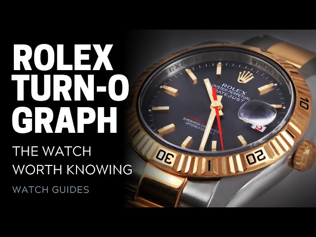 Rolex Turn-o-graph: The Watch Worth Knowing | SwissWatchExpo