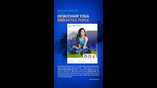 Bajaj Allianz Life - #FitnessFromHome | Yoga With Ekta Pople