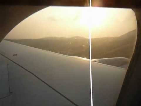 In flight arriving Koh Samui