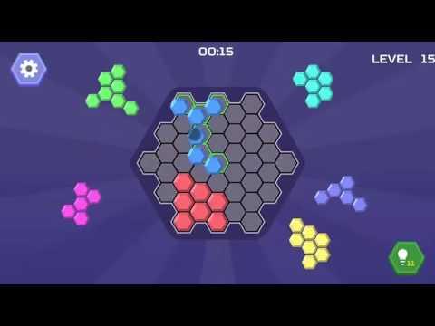 HEX BLOCKS PUZZLE LEVEL 11-20