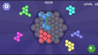 HEX BLOCKS PUZZLE LEVEL 11-20