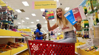 Back to school supply shopping with me!