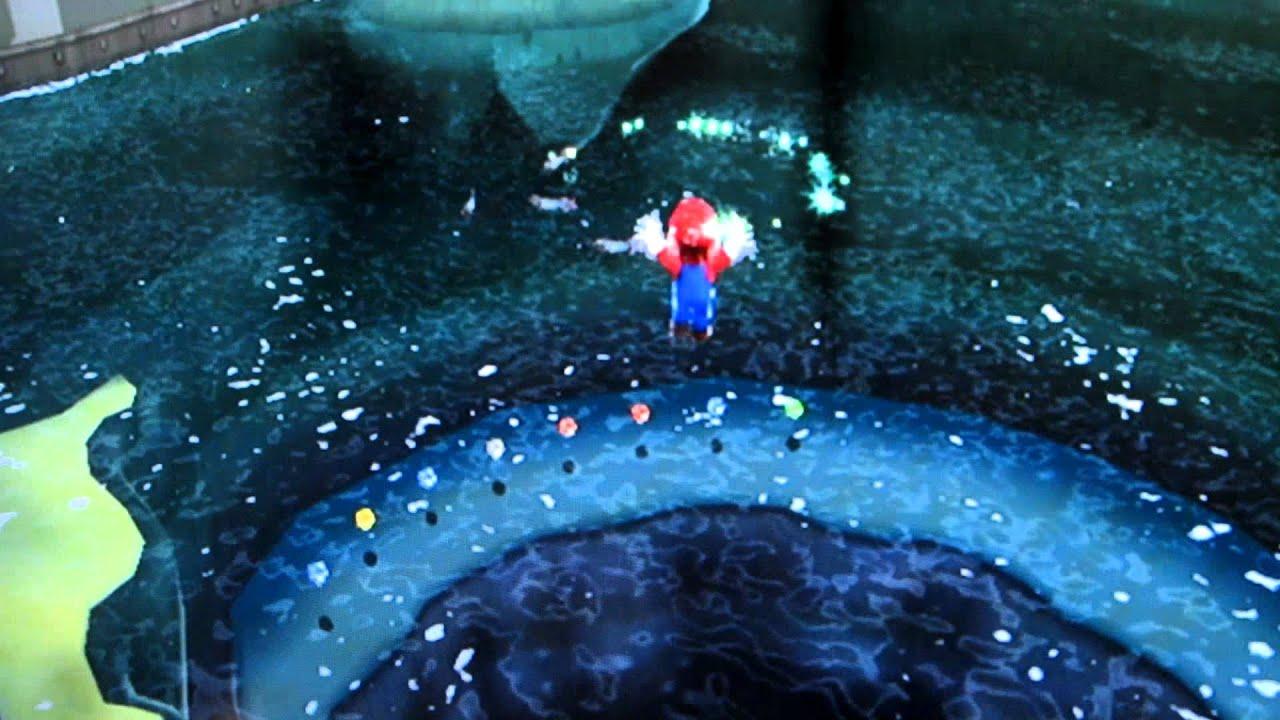 Super Mario Galaxy Deep Dark Galaxy Hidden Star Boo-in-a ...