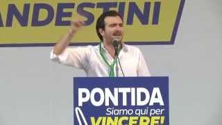 #Pontida 2015 - Intervento di Riccardo #Molinari