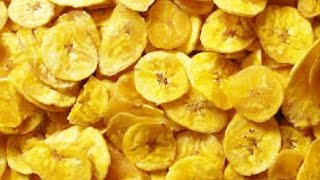 Kerala Banana Chips Recipe in English