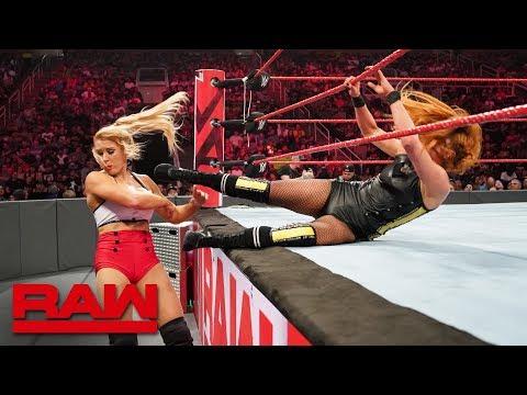 Becky Lynch \u0026 Bayley vs. Lacey Evans \u0026 Alexa Bliss: Raw, June 10, 2019