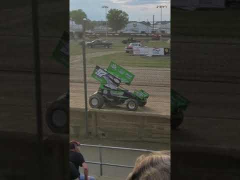 Fremont Speedway 305 sprints heat race 2 (7/28/18)