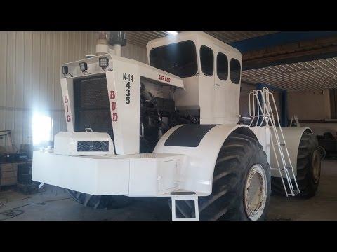 Big Bud Tractor Restoration 1 - Welker Farms Inc