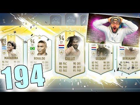OMG INSANE 194 DRAFT CHALLENGE! FIFA 19 Ultimate Team Draft