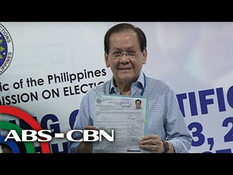 The World Tonight: Serge Osmeña not worried about disqualification case