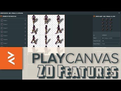 2D Support Added to PlayCanvas Game Engine - YouTube