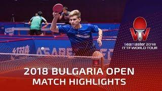 Pletea Cristian Vs Kim Daewoo | 2018 Bulgaria Open Highlights