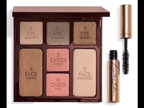 NEW Charlotte Tilbury Seductive Beauty Instant Palette To Go Nordstrom Exclusive GRWM & Review