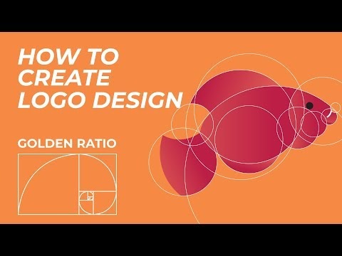 How to Create Logo Design with Golden Ratio #4 | Adobe illustrator Tutorial thumbnail