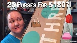 25 Purses for $180?! Kate Spade, Marc Jacobs, Coach & More! ThredUp Handbag Rescue Box Review