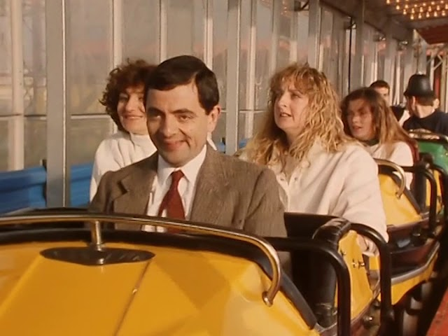 Bean's Ride Along | Funny Clip | Mr Bean Official