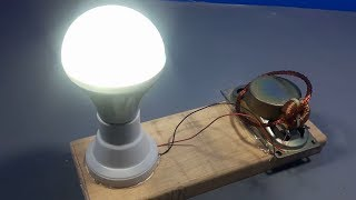 Free energy experiment using speaker magnet | science projects