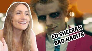 FINALLY Reacting To Ed Sheeran - Bad Habits