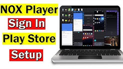 NOX App Player Play Store Setup | How To Sign In With Gmail Account Urdu/Hindi