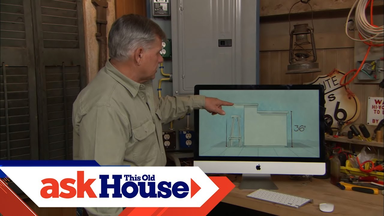 How to size a kitchen island this old house youtube