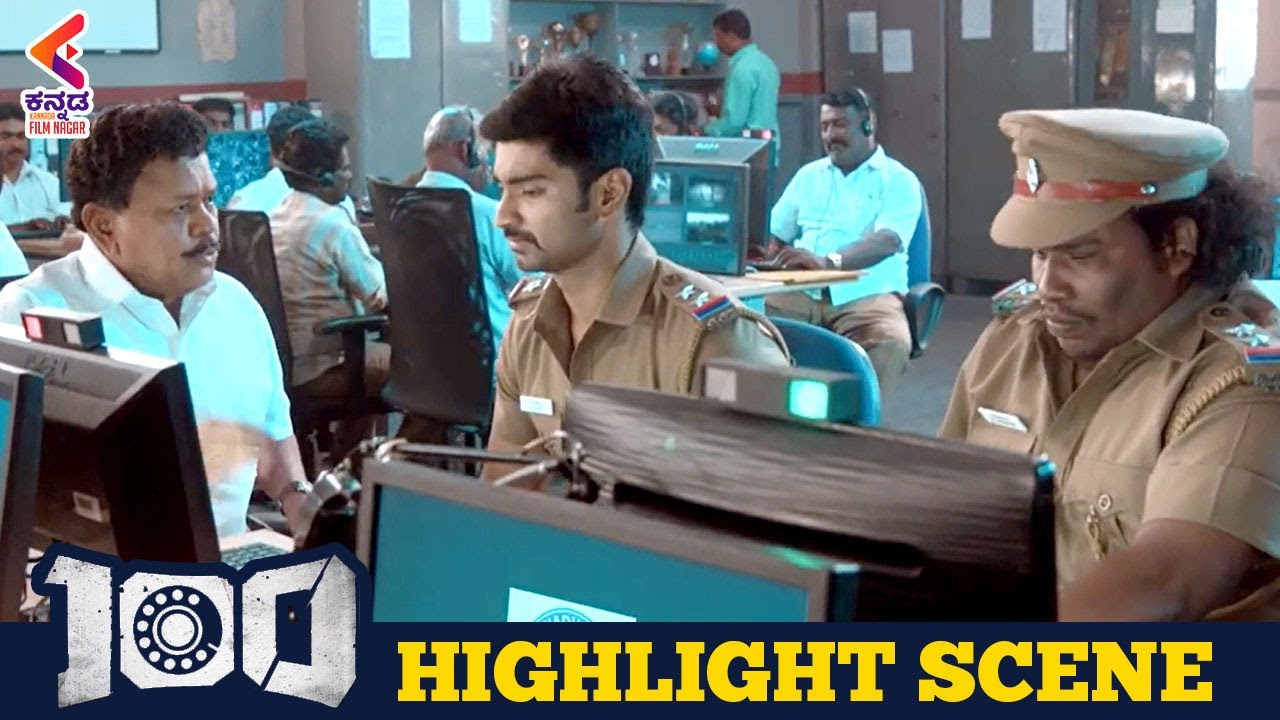 100 Kannada Dubbed Movie | Atharvaa | Highlight Scene | Hansika Motwani | Kannada Filmnagar