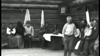 Русский народный танец 1920 года