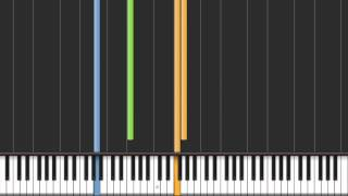 Synthesia - Just Be Friends -piano ver-