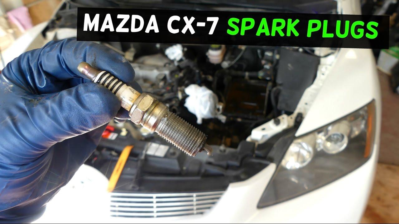mazda cx  cx spark plugs replacement  disi engine