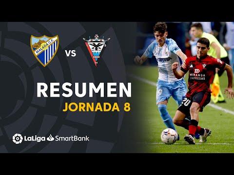 Malaga Mirandes Goals And Highlights