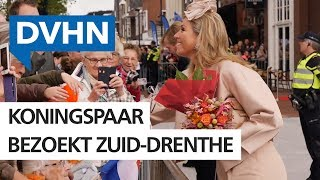 Koninklijk bezoek in Drenthe