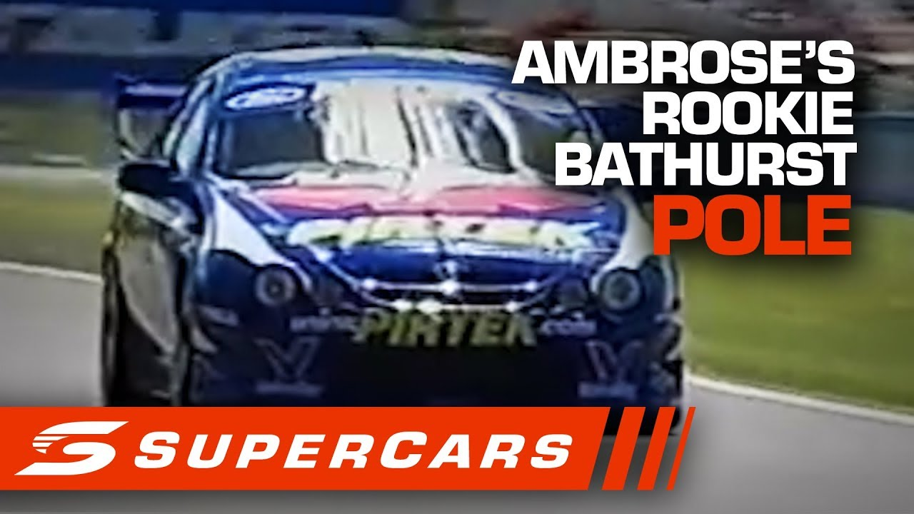 FLASHBACK: Marcos Ambrose claims his first Bathurst Pole | Supercars 2020