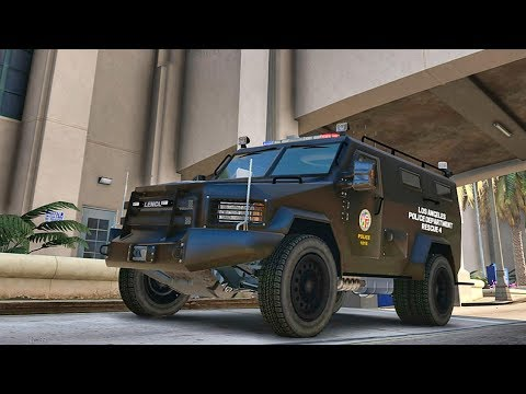 GTA 5 MODS LSPDFR 844 - SWAT PATROL!!! (GTA 5 REAL LIFE PC MOD)