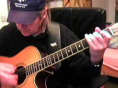 Heart Of Gold Neil Young Guitar Lesson By Siggi Mertens Youtube