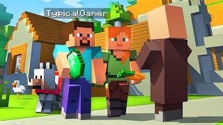 Exploring a Secret Village! (Minecraft)