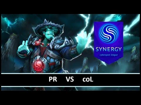 [ Dota2 ] PR vs coL - Synergy League - Thai Caster