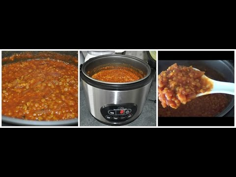 How to make EPIC lentil stew in a rice cooker