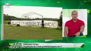 Denilson sobre protesto no Corinthians: Desnecessário