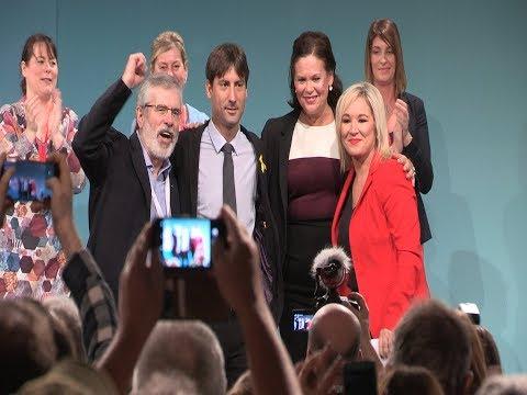 Huge crowds at Sinn Féin Ard Fheis