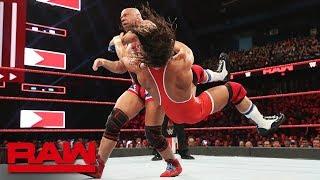 Kurt Angle vs. Chad Gable: Raw, March 18, 2019