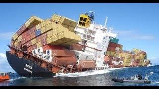 Schip ongeval | ERGSTE BOOT EN SCHIP ONGELUKKEN OP BEELD | Ship Crash Compilation #Part3