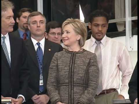 Secretary Clinton Welcome Remarks at State Department