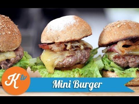 cara membuat mini burger daging empuk stanley marcellius