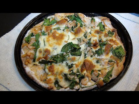 Recipe: Cooking Spinach Alfredo Pizza